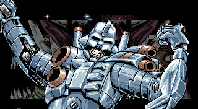 Turrican intro screen on Amiga